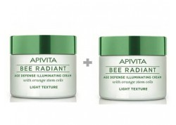 APIVITA Bee Radiant Κρέμα Αντιγήρανσης και Λάμψης ελαφριάς υφής 1+1