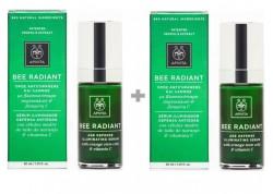 Apivita Bee Radiant Serum Αντιγήρανσης και Λάμψης 30ml 1+1