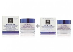 APIVITA aqua vita για κανονικές-ξηρές επιδερμίδες 50 ml 1+1