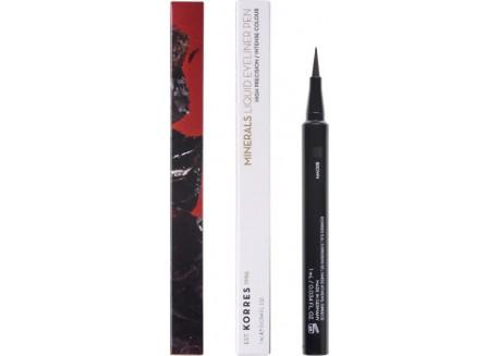 ΚΟΡΡΕΣ liquid eyeliner Pen_Minerals Brown 02