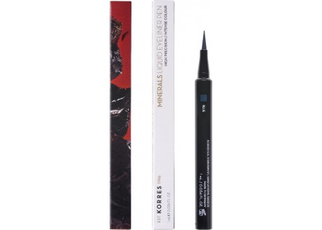 ΚΟΡΡΕΣ liquid eyeliner Pen_Minerals Blue 03