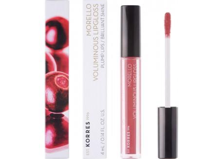 ΚΟΡΡΕΣ Morello Voluminous Lipgloss Blushed Pink No 16