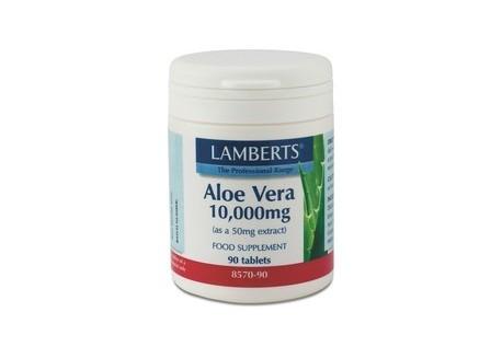Lamberts Aloe vera  H. STR. 10.000 mg 90 tabs