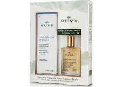 NUXE Creme Fraiche Fluide για μικτές επιδερμίδες 50ml & ΔΩΡΟ NUXE Huile Prodigieuse 30ml