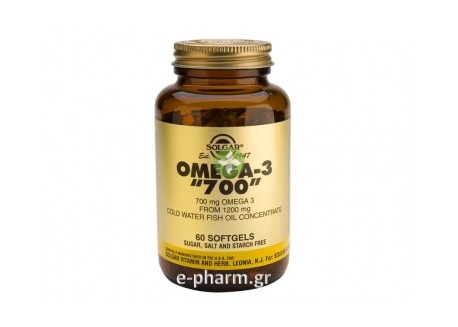 Solgar OMEGA-3 Double Strenght 60 softgels