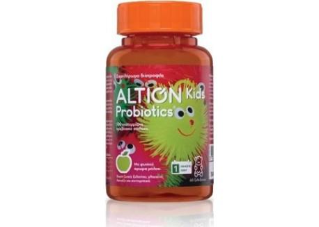 ALTION Kids Probiotics 60 μασώμενα ζελεδάκια με φυσικό άρωμα μήλο