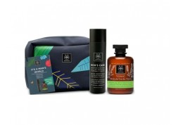 "APIVITA Promo Box ""It's A Man's World"" νεσεσέρ με αφρόλουτρο APIVITA Tonic Mountain Tea 300ml & APIVITA After Shave 100ml"