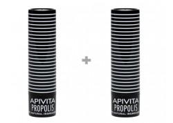 APIVITA Lip Care με πρόπολη 1+1