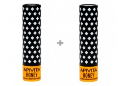 APIVITA Lip Care Μέλι Bio-Eco 1+1