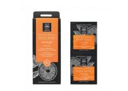 APIVITA Experss Beauty Μάσκα με πορτοκάλι 2x8 ml