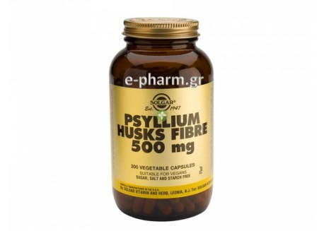 Solgar Psyllium Husks Fibre 500 mg veg.caps 200s