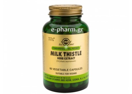 Solgar SFP Milk Thistle Herb Extract veg.caps 60s