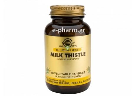 Solgar Milk Thistle 50 veg.caps