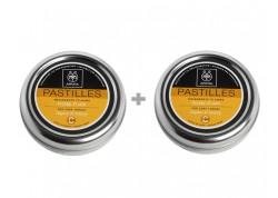 APIVITA Παστίλιες με μέλι & θυμάρι 45g 1+1