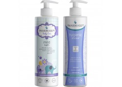 PHARMASEPT Baby Care Mild Bath 500ml & PHARMASEPT Hygienic Shower 500ml