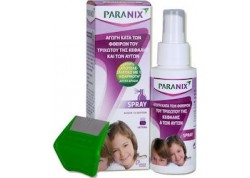 Paranix Spray κατά των φθειρών του τριχωτού & των αυγών τους 100 ml + κτένα