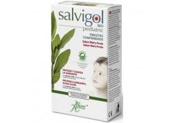 ABOCA Salvigol Pediatric με μέλι & φρούτα 30 παστίλιες