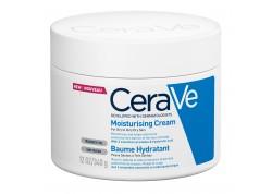 CeraVe Moisturising Cream για πρόσωπο και σώμα, ξηρό έως πολύ ξηρό δέρμα 340 g