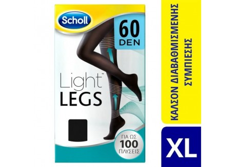 SCHOLL Light Legs 60 DEN Μαύρο SIZE XL