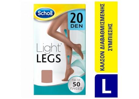 SCHOLL Light Legs 20 DEN BEIGE SIZE L