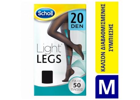 SCHOLL Light Legs 20 DEN Μαύρο SIZE M