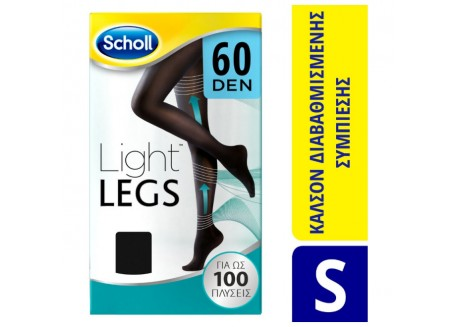 SCHOLL Light Legs 60 DEN Μαύρο SIZE S