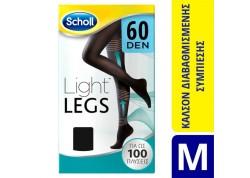 SCHOLL Light Legs 60 DEN Μαύρο SIZE M