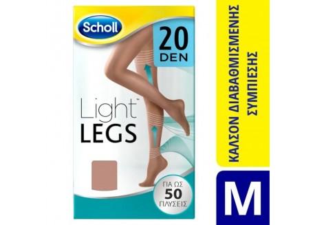 SCHOLL Light Legs 20 DEN BEIGE SIZE M
