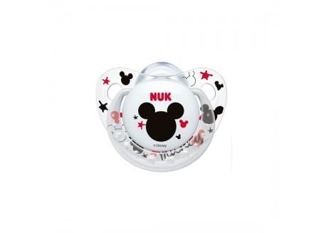 NUK Πιπίλα Σιλικόνης Disney Mickey 0-6 m