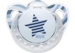 NUK Πιπίλα Trendline Adore Σιλικόνης αστέρι 6-18 m