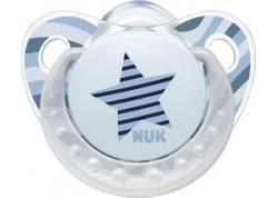NUK Πιπίλα Σιλικόνης Trendline Adore αστέρι 18-36 m