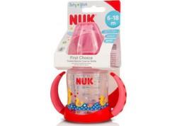 NUK Μπιμπερό Εκπαίδευσης Με Στόμιο Σιλικόνης με 2 λαβές 150 ml