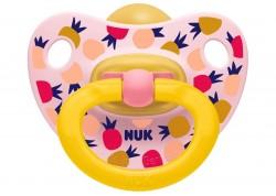 NUK Happy Kids πιπίλα φυσ. ελαστικό 0-6 m