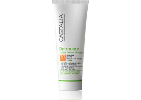 CASTALIA Dermopur Creme Solaire SPF 30 Teintee 40 ml