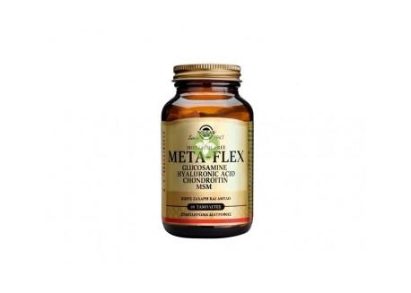 Solgar META-FLEX Glucosamine Hyalur. Acid Chondr. MSM 60 tabs