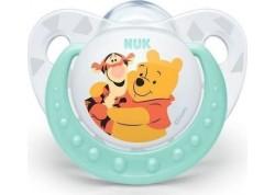 NUK Disney Baby πιπίλα Σιλικόνης Winnie the Pooh μπλε 6-18 m