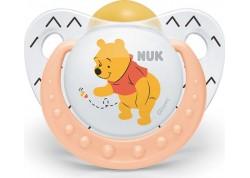 NUK Disney Baby πιπίλα Καουτσούκ Winnie the Pooh πορτοκαλί 18-36 m