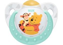 NUK Disney Baby πιπίλα Καουτσούκ Winnie the Pooh μπλε 6-18 m
