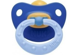 Nuk Soft Πιπίλα Καουτσούκ μπλε 6-18 m