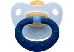 NUK Soft πιπίλα Καουτσούκ γαλάζιο 0-6 m