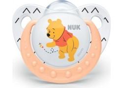 NUK Disney Baby πιπίλα Σιλικόνης Winnie the Pooh πορτοκαλί 6-18 m