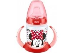 NUK Μπιμπερό First Choice Disney Minnie Εκπαίδευσης με 2 λαβές 6-18m 150ml
