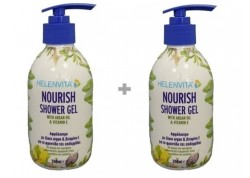 HELENVITA Nourish Shower Gel 300 ml 1+1 ΔΩΡΟ