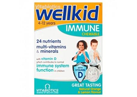 Vitabiotics Wellkid Immune Chewable 30 tabs