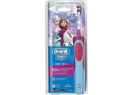 ORAL-B Παιδική Ηλεκτρική Οδοντόβουρτσα Stages Power Frozen 3+ ετών