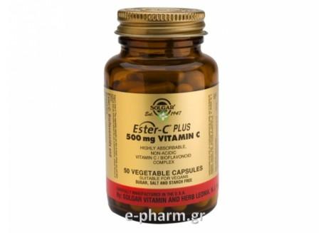 Solgar ESTER-C  500 mg veg. caps 50