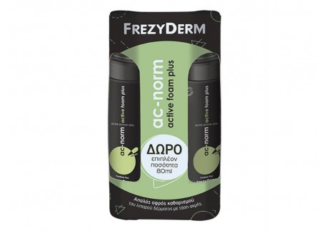 Frezyderm Ac-norm Active Foam Plus 150 ml + ΔΩΡΟ 80 ml