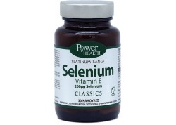 POWER HEALTH Selenium 30 κάψουλες