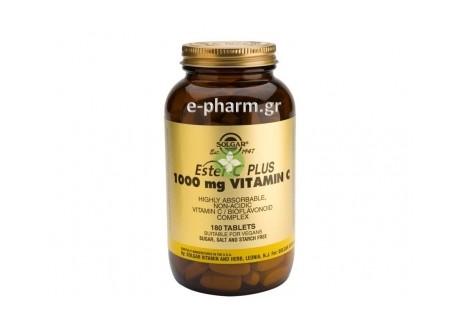 Solgar ESTER-C 1000 mg tabs 180s