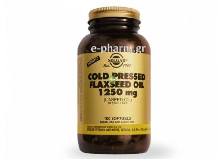 Solgar Flaxseed Oil 1250 mg softgels 100s